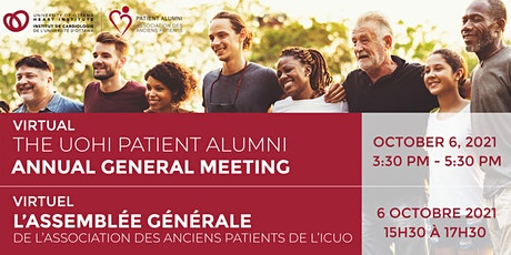 UOHI Patient Alumni Annual General Meeting: Behind the Mask tickets