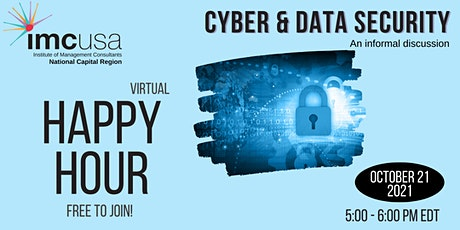 IMC NCR Cyber  and Data Security Happy Hour Discussion tickets