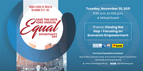 Urban League of Greater Oklahoma City 43rd Annual Equal Opportunity Day tickets