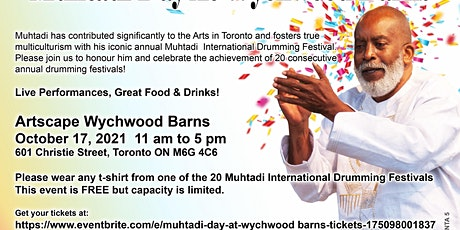 Muhtadi Day at Wychwood Barns tickets