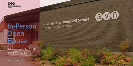 In-person Open House - AvH German International School Montreal tickets