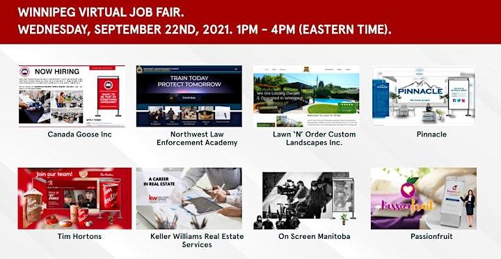 Manitoba Virtual Job Fair - September 22nd, 2021 image