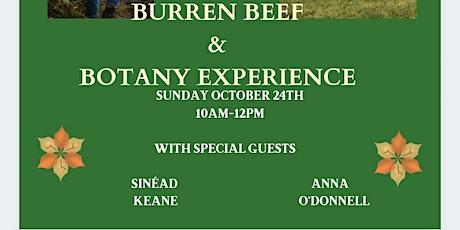 Burren Beef & Botany Experience tickets