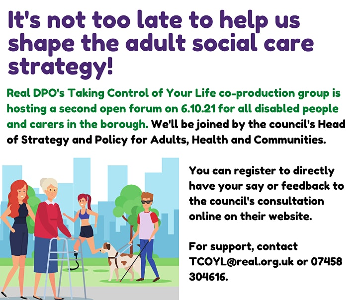 Future of Adult Social Care in Tower Hamlets - Follow up session image