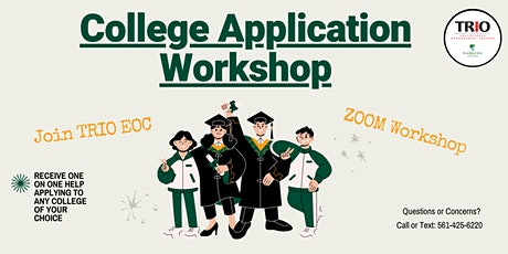 College Application Assistance tickets