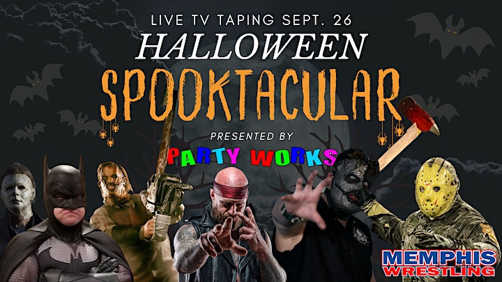 Halloween TV SPOOKtacular presented by Party Works image