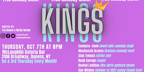 Kings of Queens Comedy Show tickets