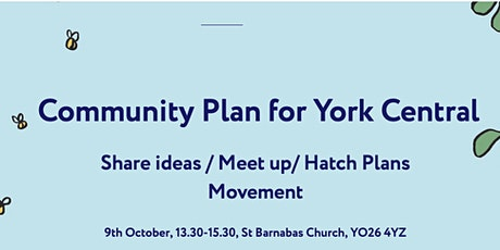 Community Plan for York Central: Sharing Ideas/Meeting Up (Movement) tickets