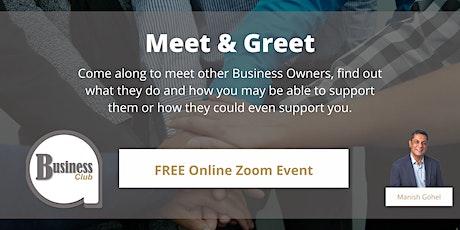 Business Club - Meet & Greet tickets