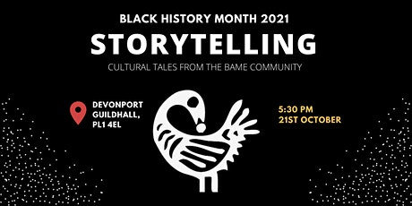 BLACK HISTORY MONTH PLYMOUTH: StoryTelling tickets