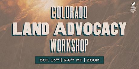 Colorado Land Advocacy Workshop tickets