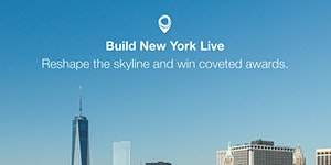 Build New York Live Awards evening