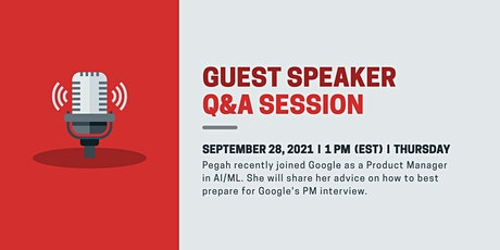 Guest Speaker: Nailing the Google Product Management Interview tickets