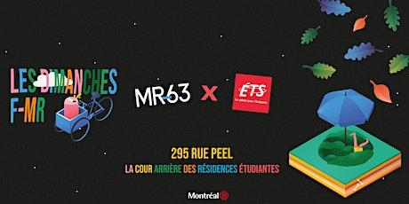 Dimanches F-MR X ETS @  cour arrière du 295 rue peel tickets