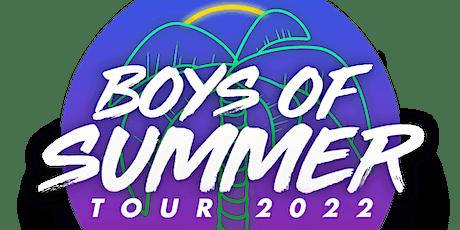 Boys of Summer Tour 2022 tickets