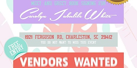 Meet and Greet/Book signing for Carolyn Jabulile White tickets