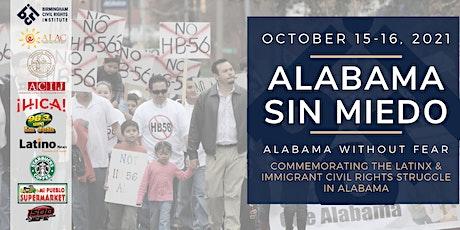 Alabama Sin Miedo Commemorative Program (Alabama Without Fear) tickets