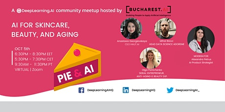 Pie & AI: Bucharest AI - AI for Skincare, Beauty, and Aging tickets