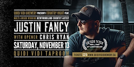 COUNTRY NIGHT feat. JUSTIN FANCY tickets