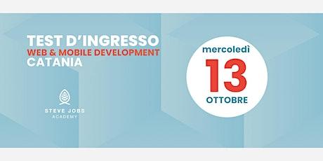 Esame di Selezione al corso di Web & Mobile  Development di Catania biglietti
