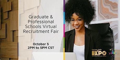 Graduate and Professional Schools Virtual Recruitment Fair tickets