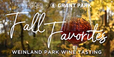 Fall Favorites: Wine Tasting at Grant Park tickets
