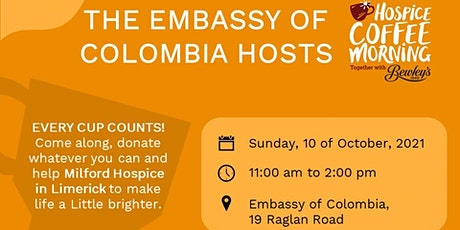 The Colombian Embassy hosts Coffee Morning tickets