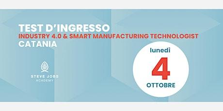 Esame al corso di Industry 4.0 & Smart Manufacturing Technologist - Catania biglietti