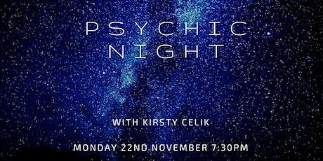 Psychic Medium Evening tickets