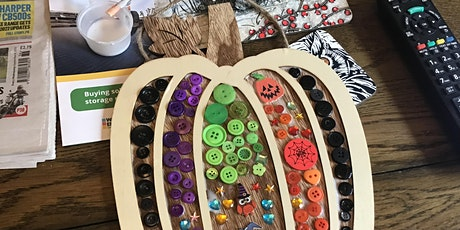 Halloween trick or treat bag and potion making tickets