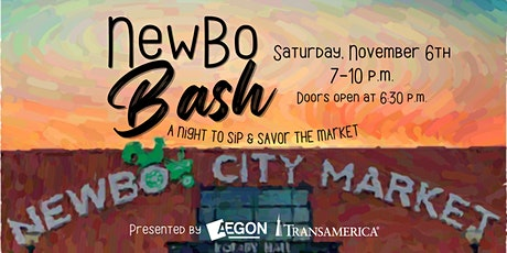 2021 NewBo Bash: a night to sip & savor the Market! tickets