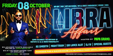 Libra Affair - RS Smooth Birthday Celebration tickets