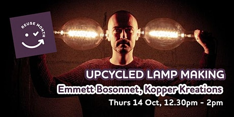 Upcycled Lamp Masterclass tickets