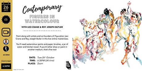 Paint Along: Creative Figures in Watercolour tickets