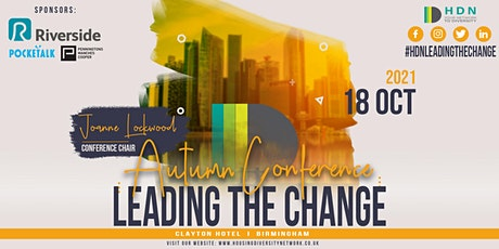 HDN Autumn Conference, Leading the Change tickets