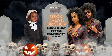 Trick, Treat Or Shop tickets