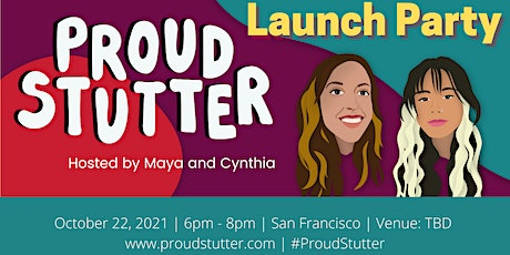 Join Us in Celebrating the Launch of PROUD STUTTER! tickets