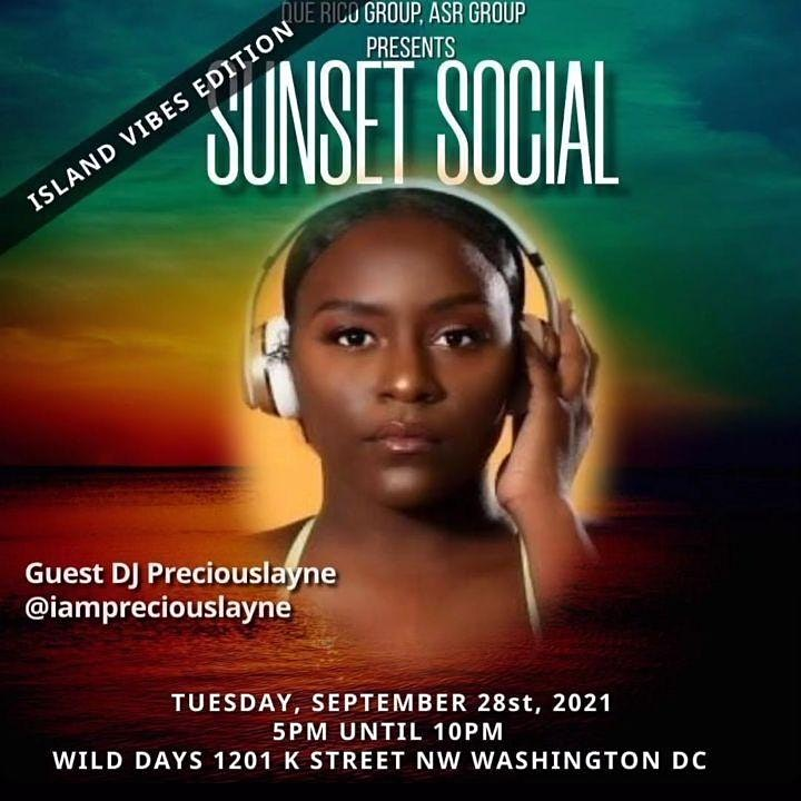 SUNSET SOCIAL AT WILD DAYS DC (EATON ROOFTOP) image