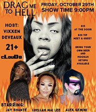 Vixxen's Drag Me to Hell tickets