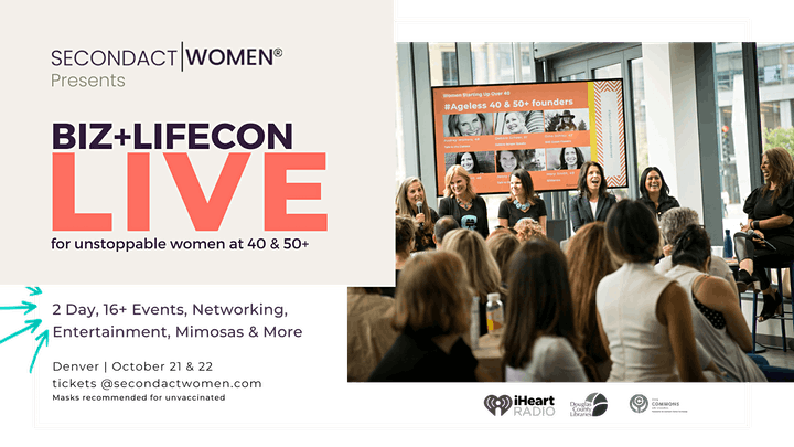 Biz+LifeCon for Female 40 & 50+ image