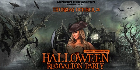 Reggaeton Halloween Party tickets