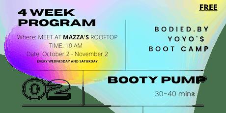 BODIEDBY.YOYO 4 -WEEK BOOT CAMP tickets