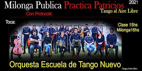 Orquesta Escuela de Tango Nuevo en Práctica Patricios entradas