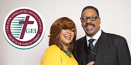 Greater Emmanuel Institutional C.O.G.I.C Sunday Worship tickets