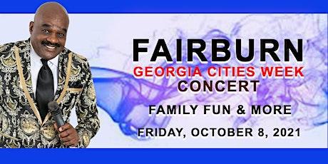 Fairburn - Georgia Cities Week Concert tickets