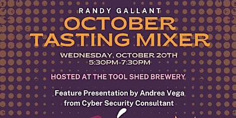 RANDY GALLANT OCTOBER TASTING BUSINESS MIXER tickets