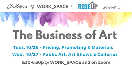 Business of Art - 2 Night Event tickets