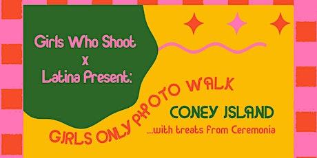 Girls Who Shoot x Latina present: Girls Only Photo Walk tickets