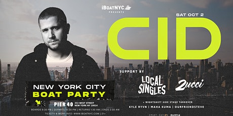CID & Friends Boat Party NYC tickets