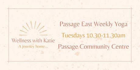 Weekly Yoga Passage East with Katie Duggan tickets